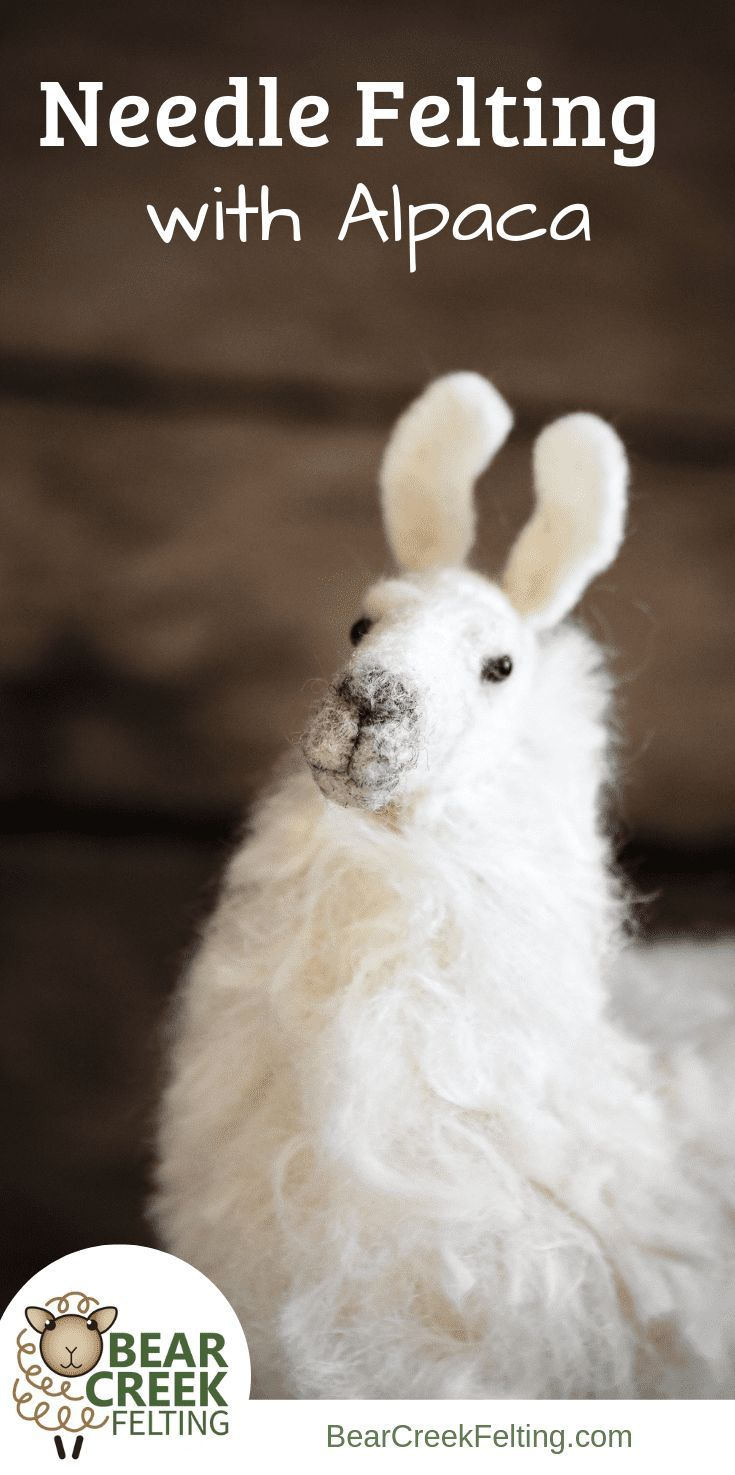 Working with Alpaca Fiber in Your Needle Felting - Bear Creek Felting Whether you�re brand new to needle felting or have been working with sheep�s wool for a while now, are you ready to try needle felting with alpaca?