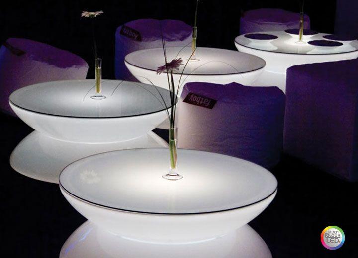 Table Basse Lumineuse Lounge Table Basse Lumineuse Lampe Decoration Led Decoration