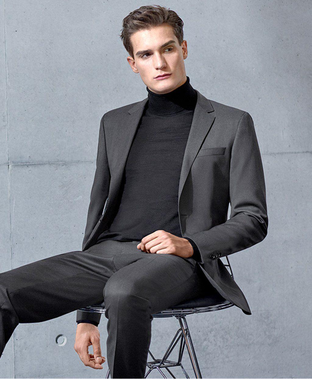 HUGO BOSS-MODEL MEN MAN MALE IN SUITS | TOMMY DUNN | Pinterest ...