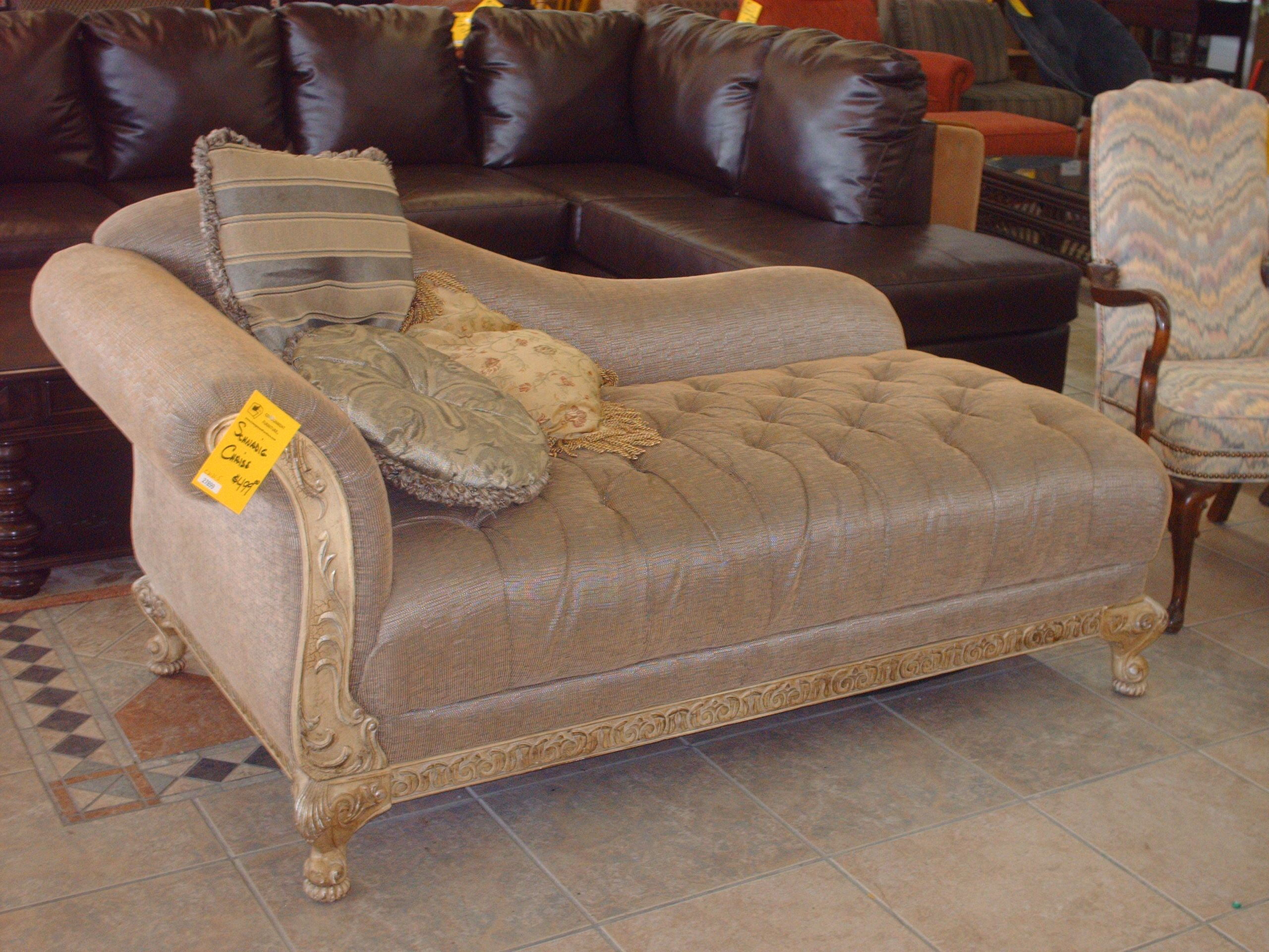 Consignment Furniture Schnadig Chaise 425 Tulsa Ok