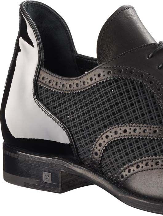a455f8302d6 Louis Vuitton Mens Shanghai richelieu in mixed patchwork 2 | Me ...
