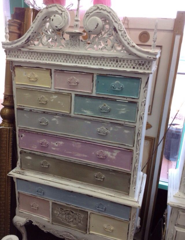 Multi Colored Painted Furniture. Multi Colored Painted ...