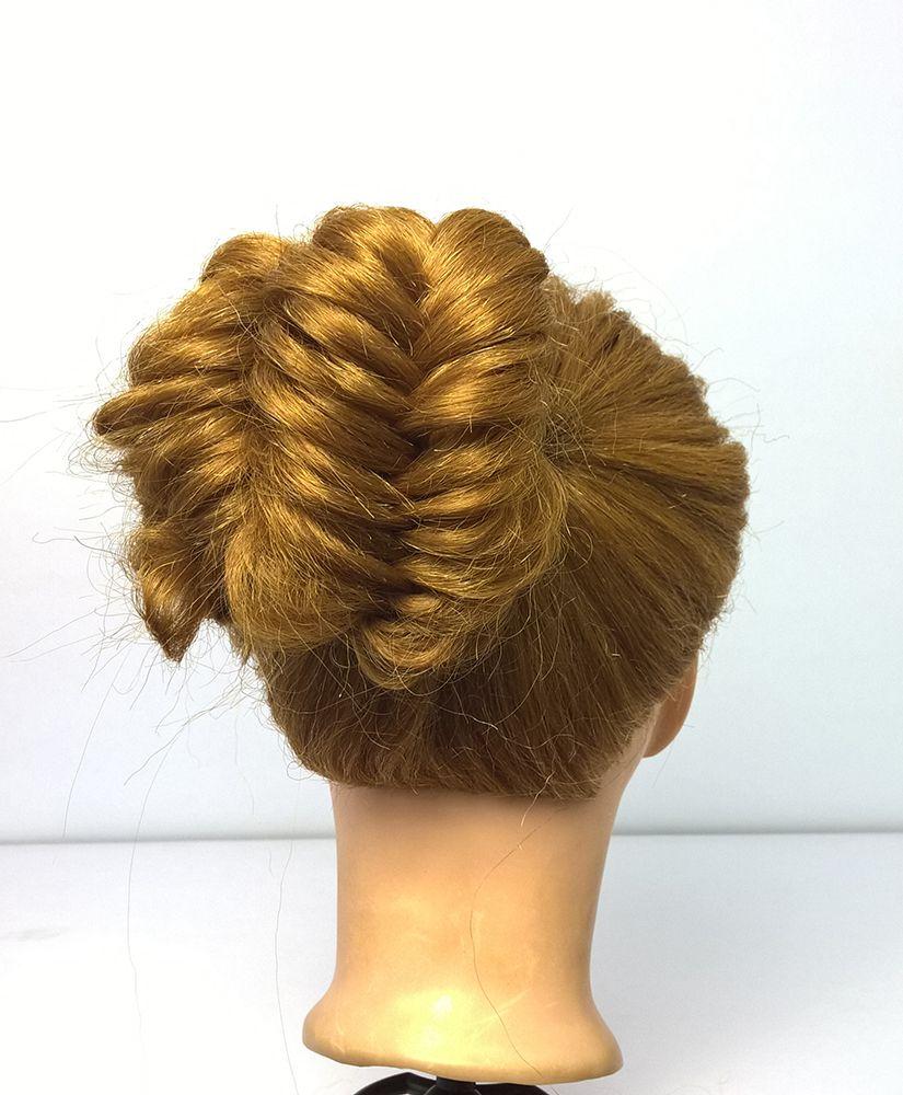 Khajuri Choti Design Easy Bun Hairstyles Bun Hairstyles Braided Bun Hairstyles
