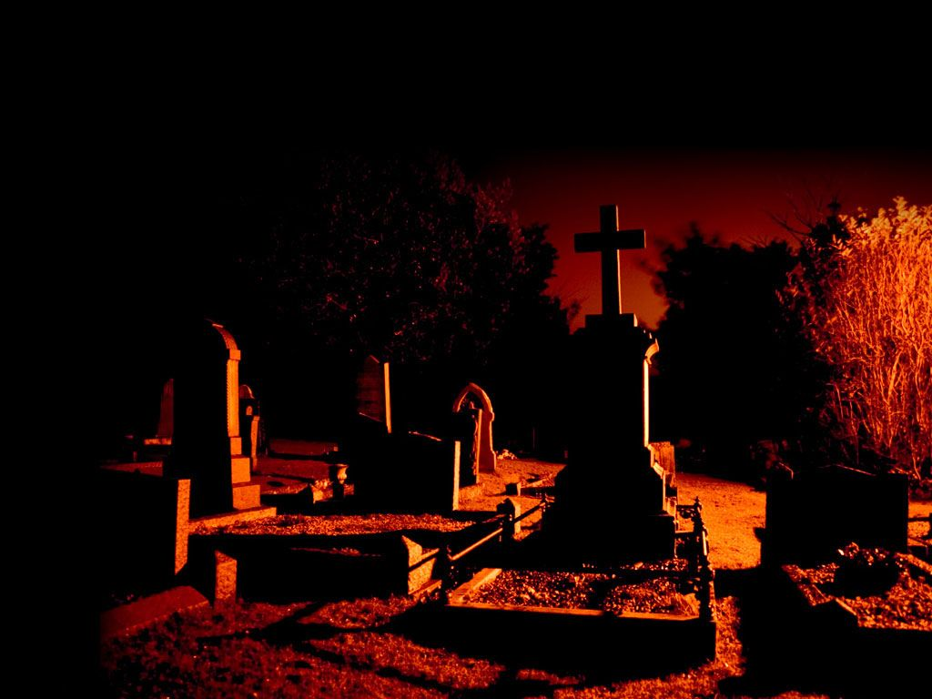 halloween cemetery wallpaper - bing images | charismatic churches