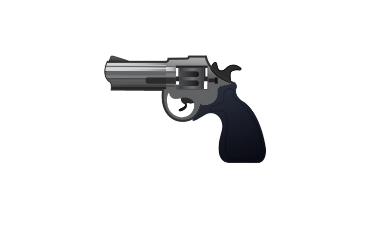 Pistol Emoji Https Www Emojimantra Com