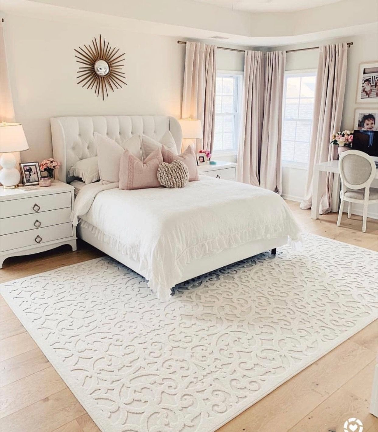 Master Bedroom Makeover By Fun On Home Texas Tech White Master