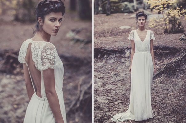 Laure De Sagazan Couture Designer Wedding Dress Bridal Gown French Lace Ivory White6 Pinterest Gowns And