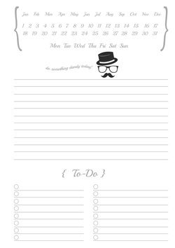 Free Printable A5 Daily Planner Page