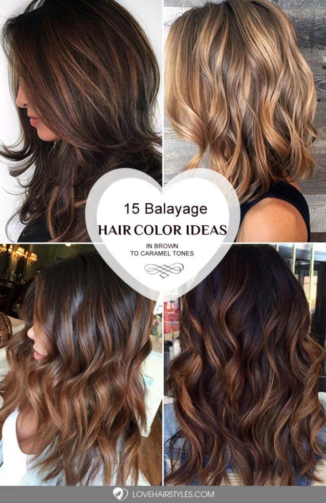 44 Balayage Hair Ideas In Brown To Caramel Tone Hair Pinterest