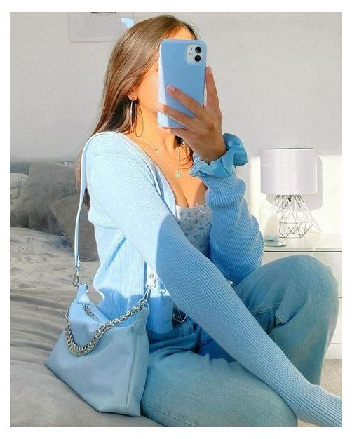 blue aesthetic shirt