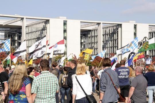 Grüne: Verfassungsschutz soll Reichsbürger beobachten - DIE WELT