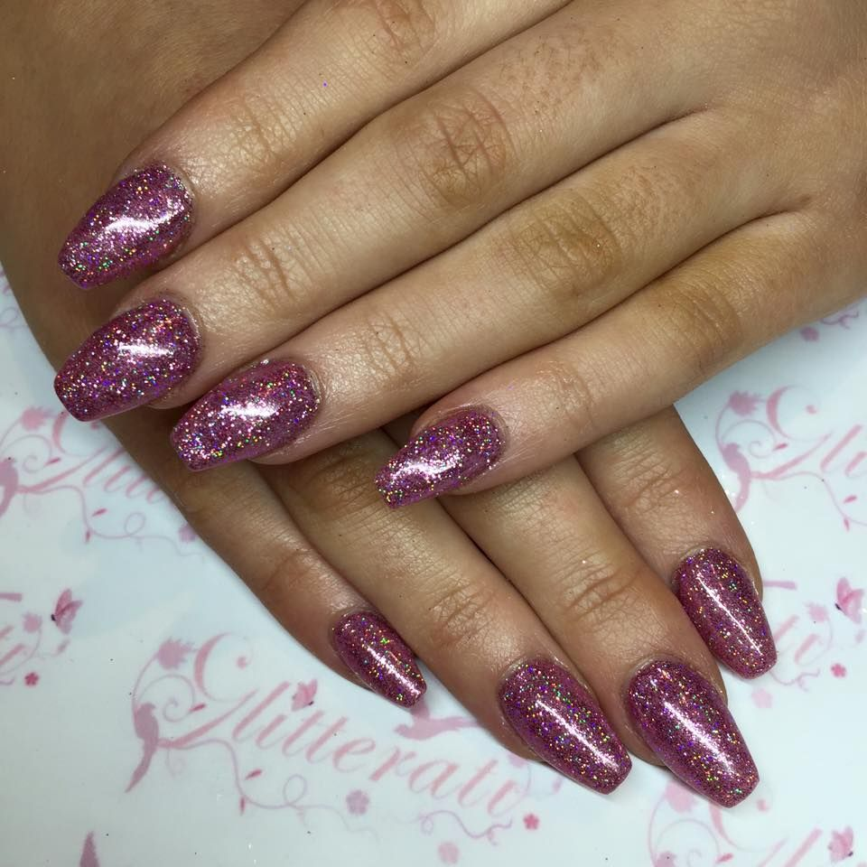 The gorgeous #lecente #firefly #glitter - nails by Sarah Coppen ...