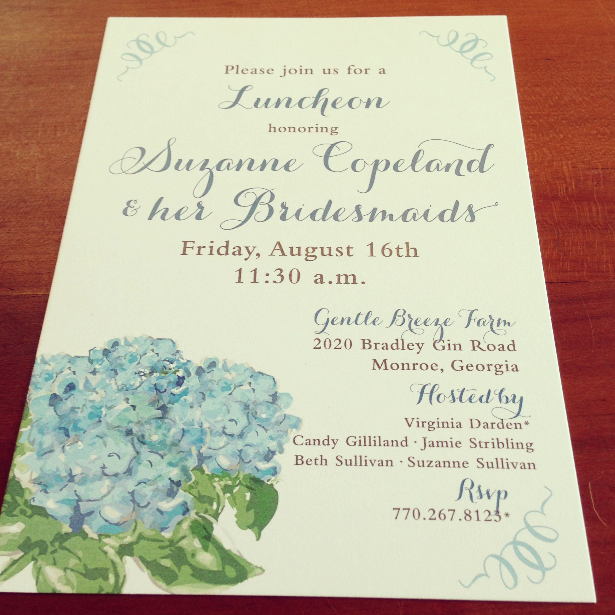 funny bachelorette party sayings for invitations%0A Bridesmaid luncheon invitation  plainjanedesigns  athens  bridesmaids   luncheon