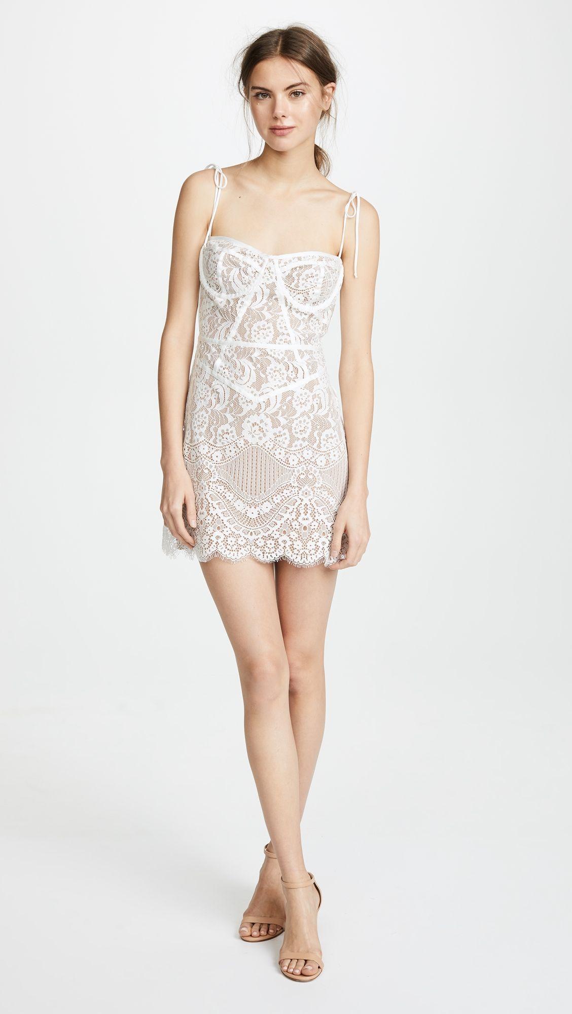 Tati Lace Corset Dress Products White Lace Corset