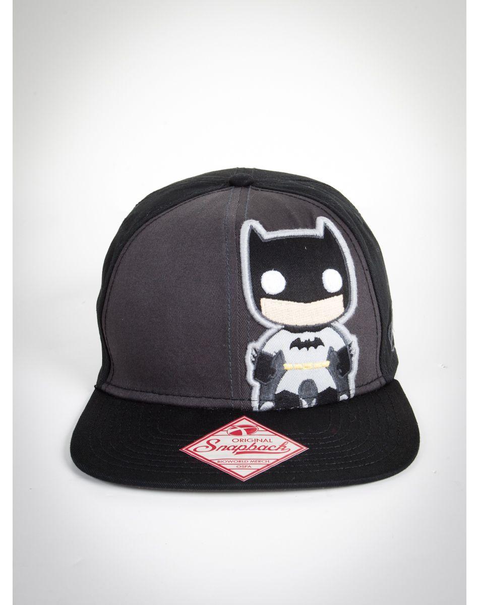 Batman Snapback, idk I just like hats