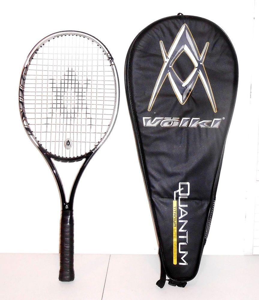 Volki Quantum 1 Titanium Light Carbon 115 sq in Tennis