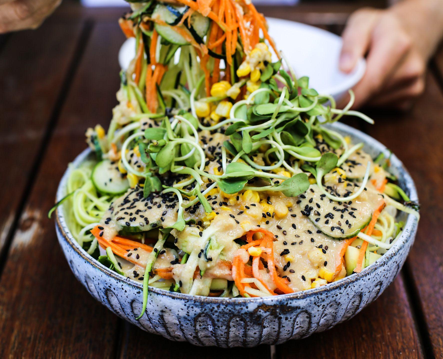 Healthy pad thai recipe for the warmer months pad thai