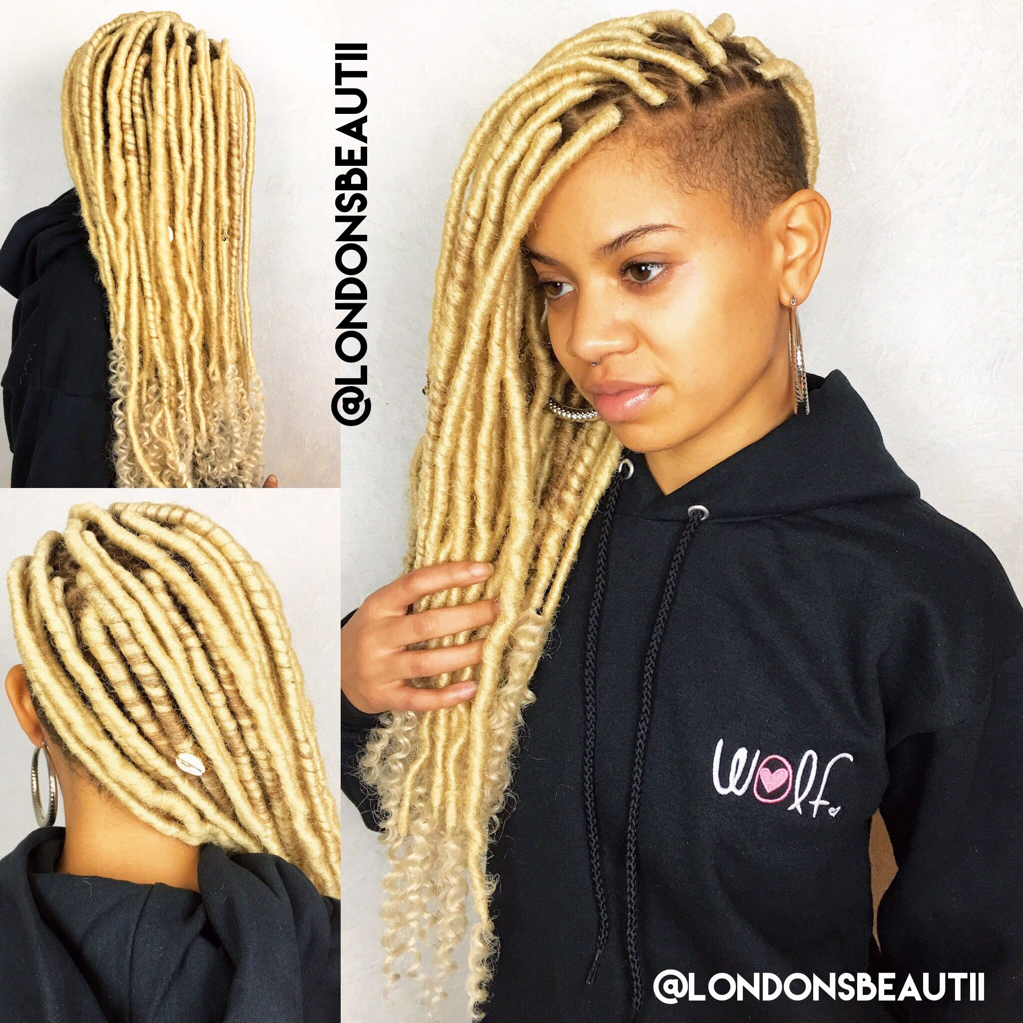 Locs are terribly time consuming but so cool youull want to