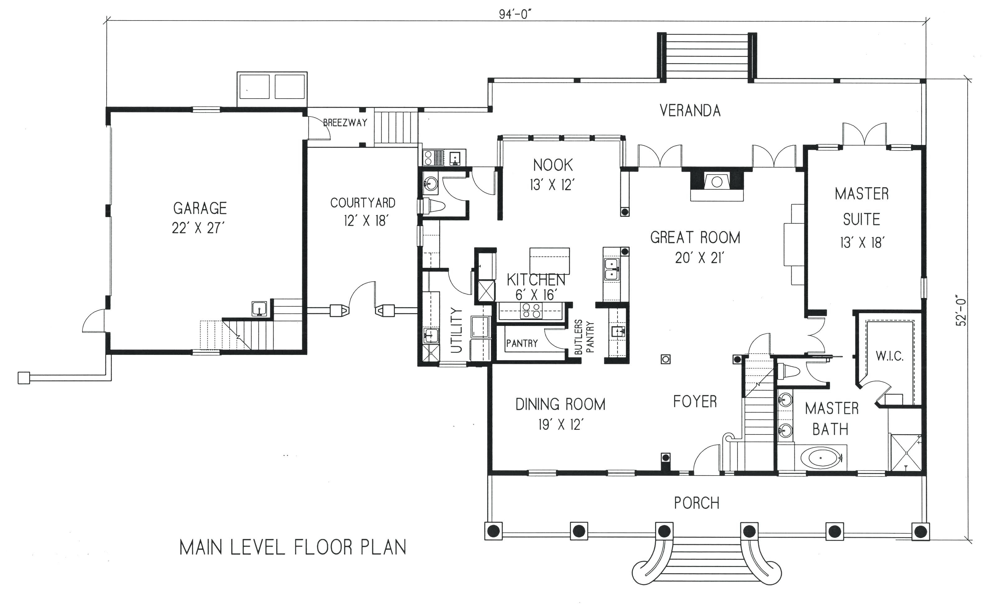 Detached Garage Floor Plans With Loft