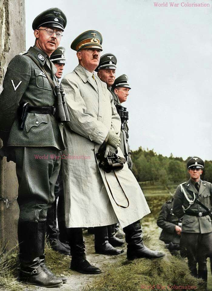 heinrich himmler and hitler relationship
