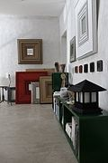 Carton Noir - Cécile Chappuis : pièces uniques en carton. Miroirs, encadrements, luminaires, objets