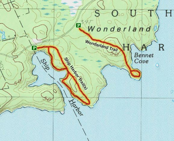 acadia trail maps » ..:: Edi Maps ::.. | Full HD Maps