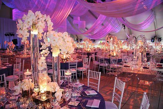 salon decorado para boda