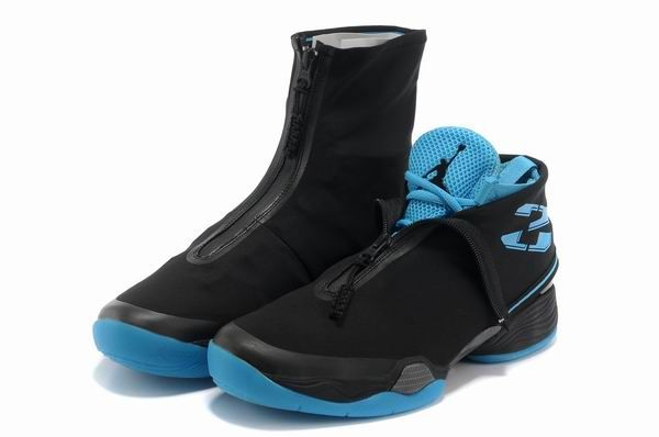 6d758de9660a Hight Quality Air Jordan 28 Black-Sky Blue
