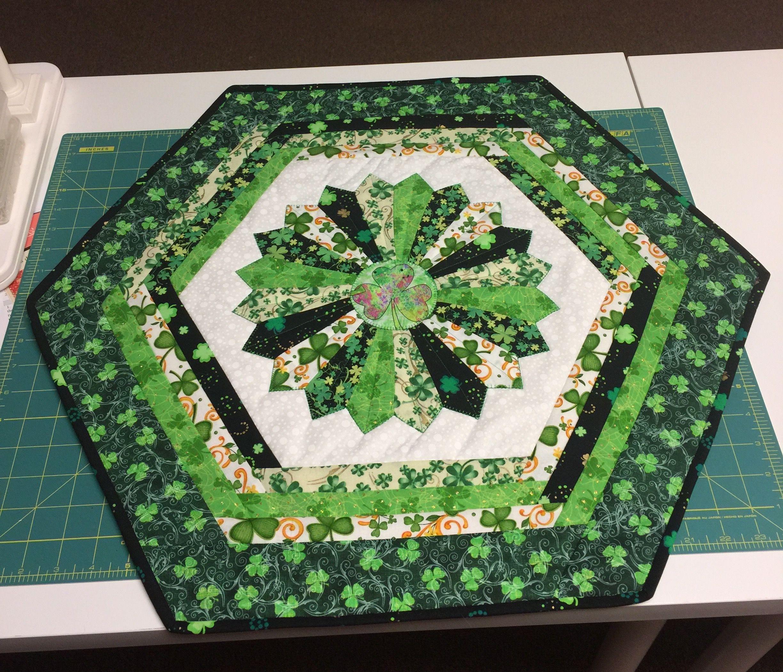St Patricks Day Dresden Table Mat