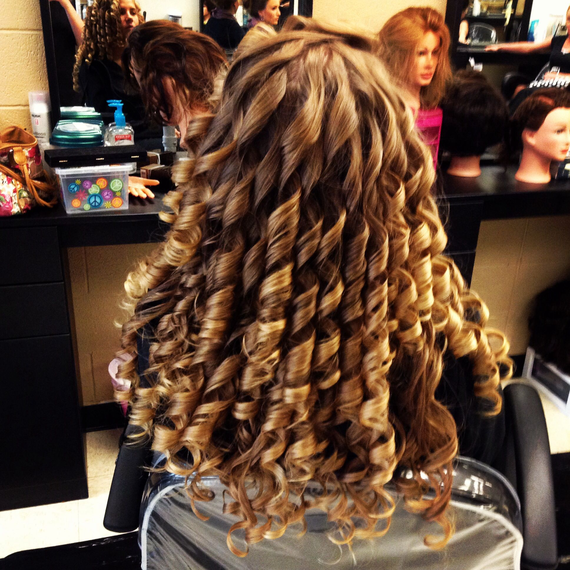 y spiral curls So crisp And inspiring Maybe I ll try them on