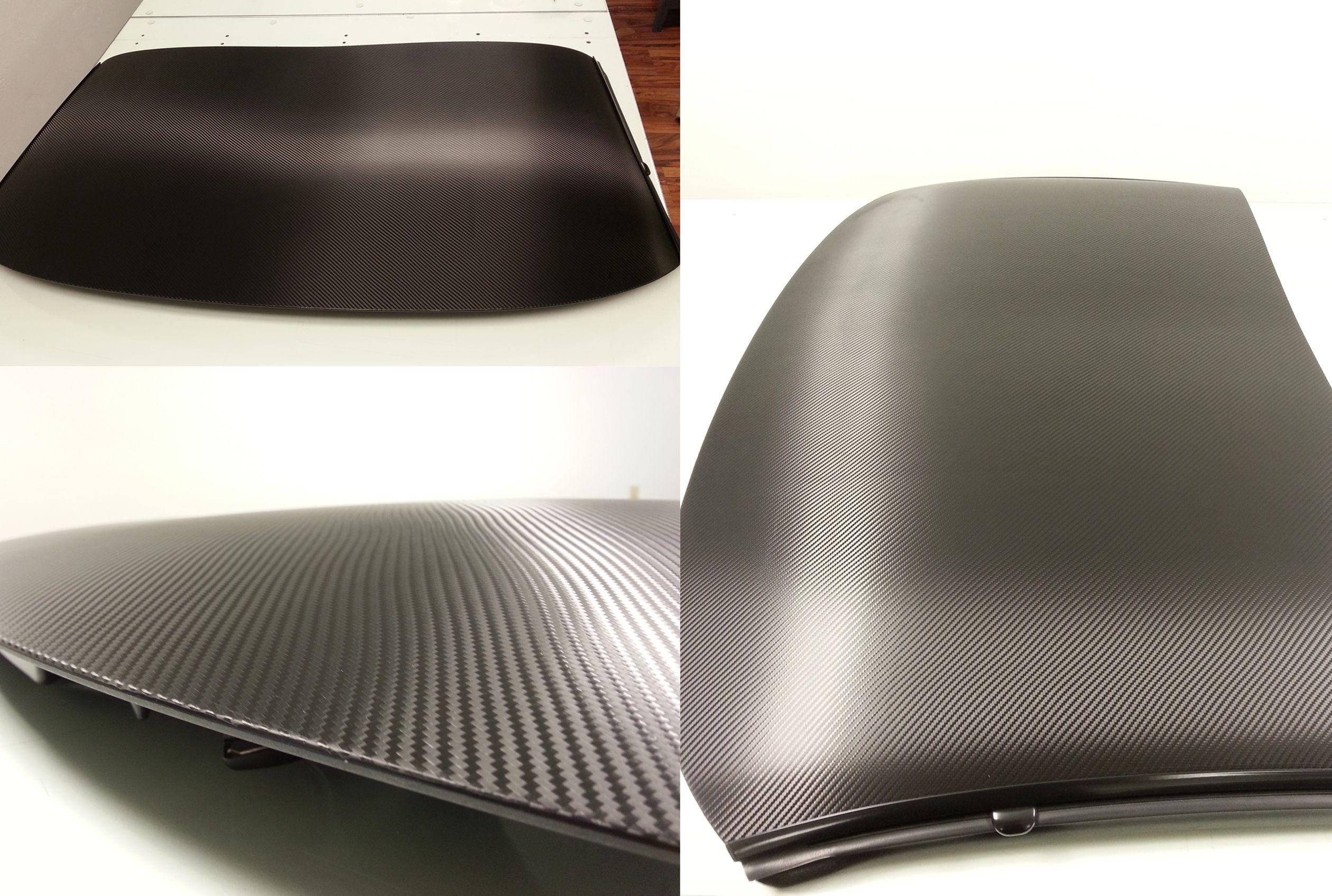3m 1080 Carbon Fiber Wrapped Onto A Corvette Roof 3m Vinyl Carbonfiber Corvette Carbon Fiber Wrap Vinyl Graphics Vinyl Wrap