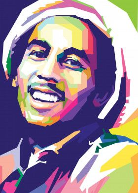 Bob Marley | Displate thumbnail