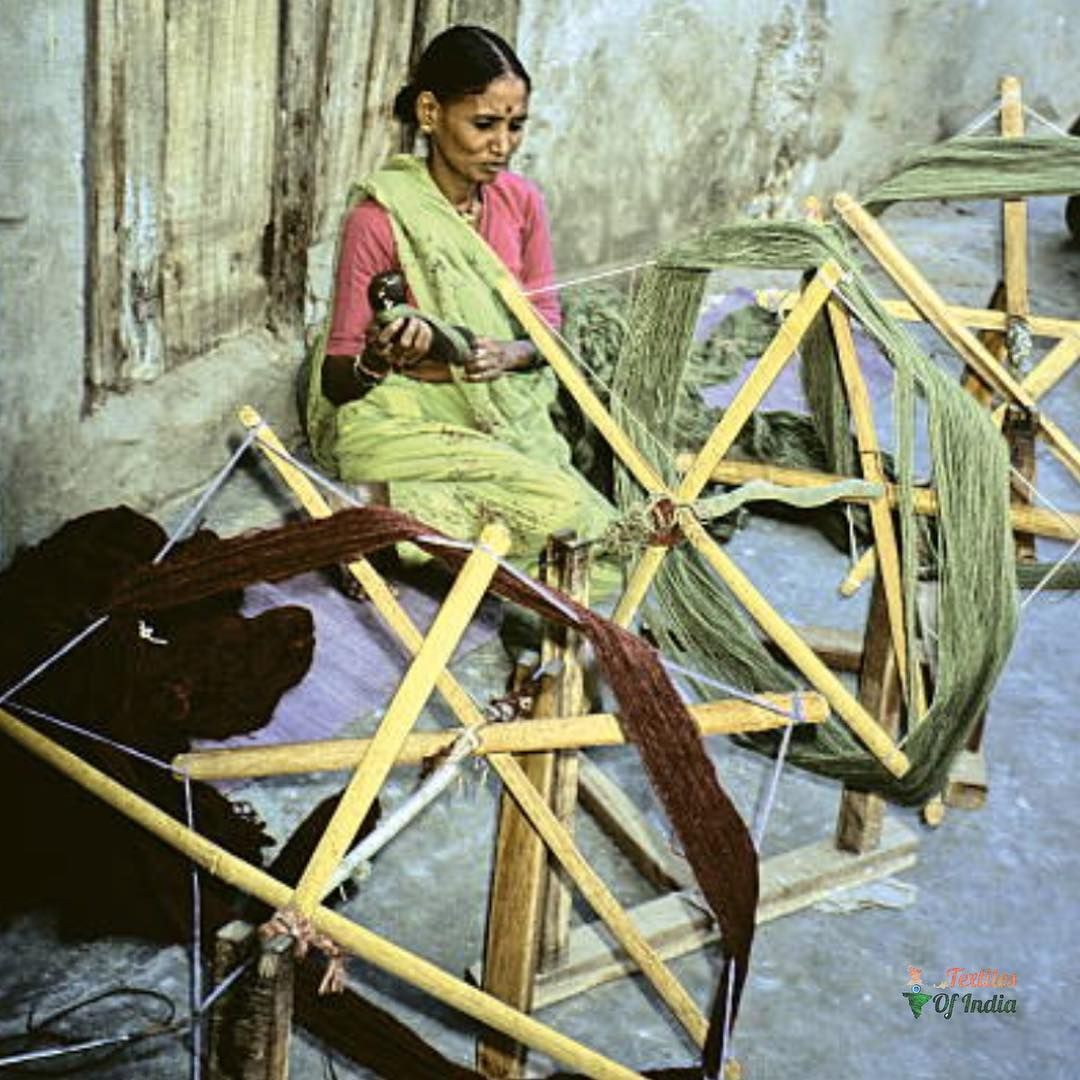 The charkha was both a tool and a symbol of the Indian