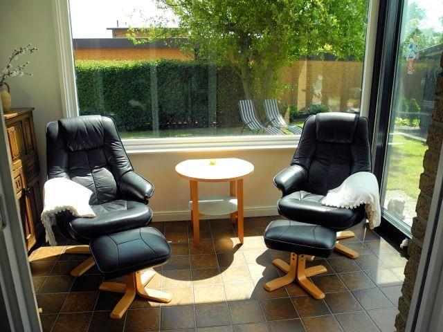 Wintergarten Lounge stuhl, Unterkunft und Sauna im garten