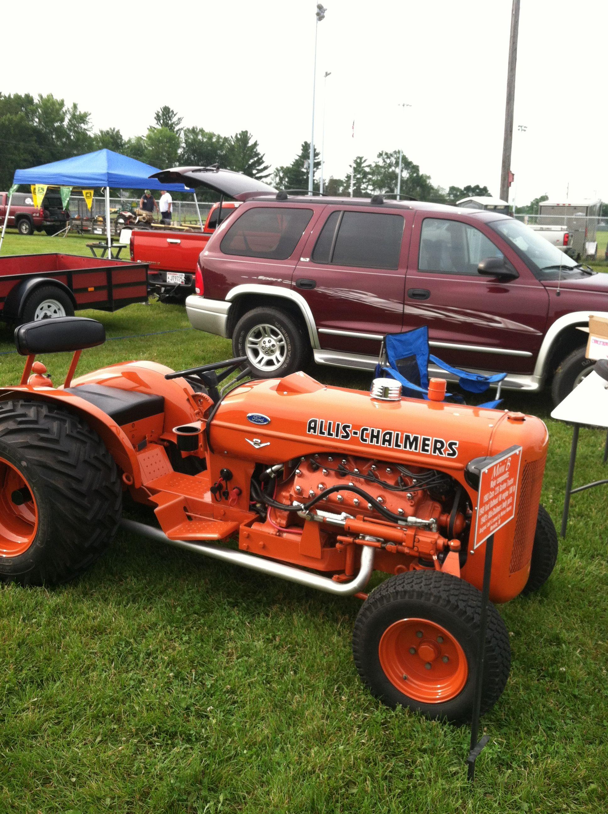 custom built allis v8 flathead allis chalmers tractors classic tractor antique tractors custom built allis v8 flathead allis