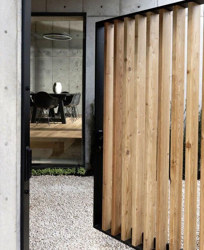 Betonkistenhaus Stilvolle Häuser #dekoeingangsbereichaussen