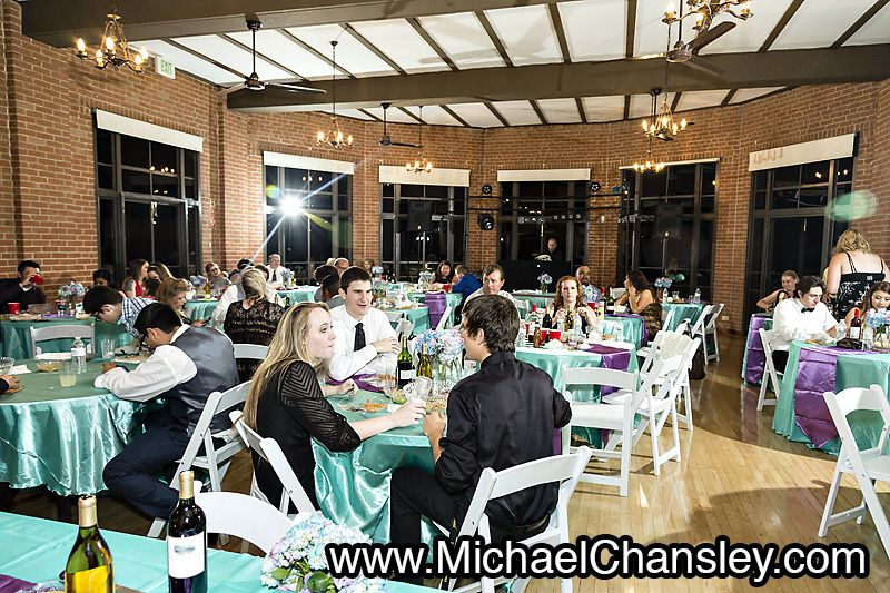 Wedding Reception Hall View At Encanto Park Clubhouse Wedding Venue