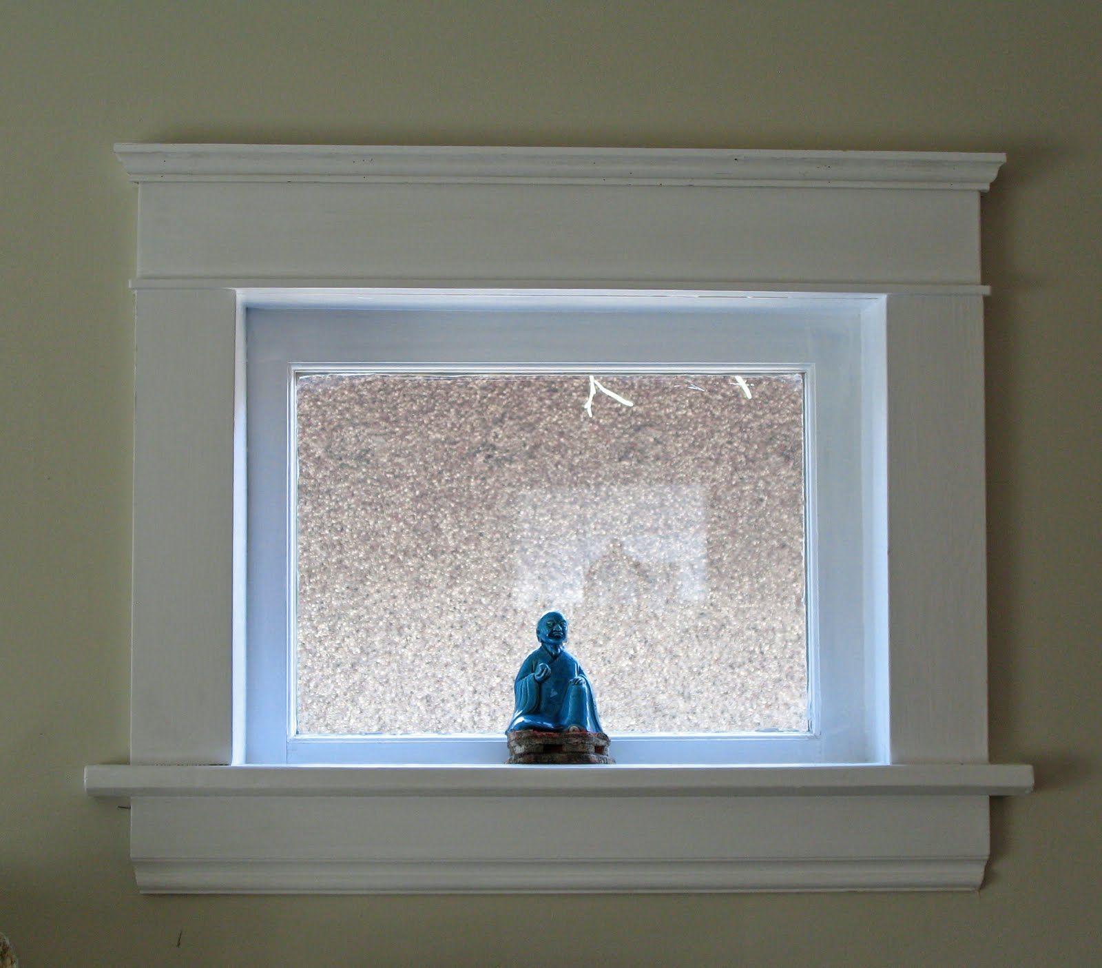 Egress window decor  trim basement windows u  home decor that i love  pinteu