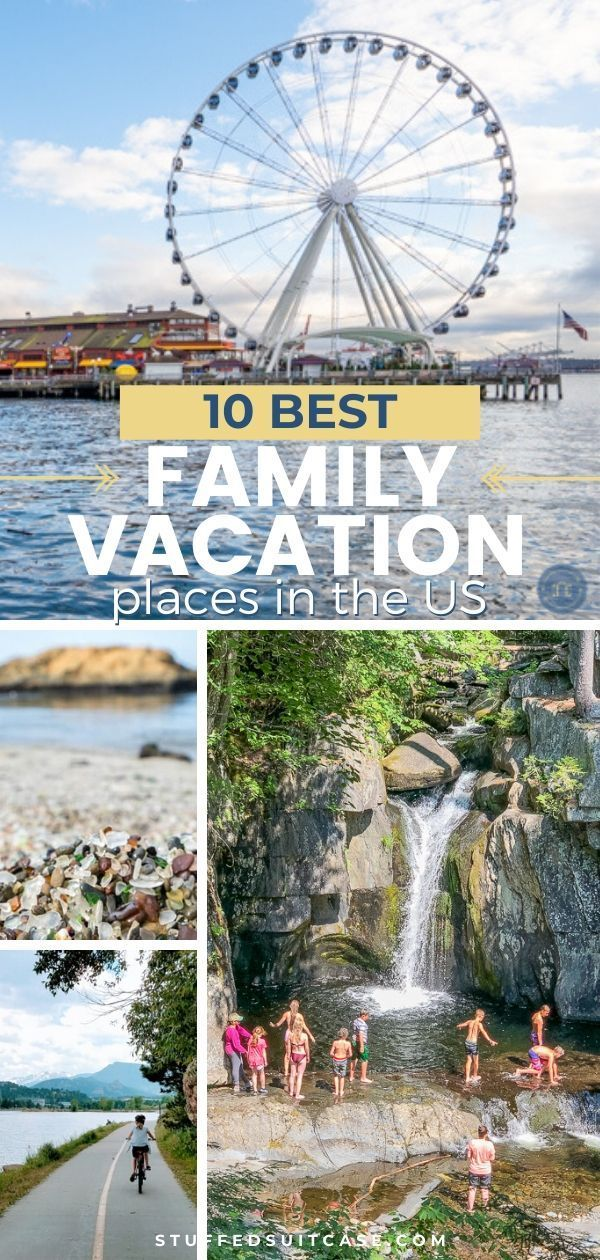 Best Family Vacation Destinations in the USA