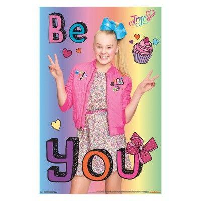 Framed Wall Poster Print Trends International 24 25 X 2 45 X 35 75 Multi Colored Jojo Siwa Bows Jojo Siwa Jojo Siwa Birthday