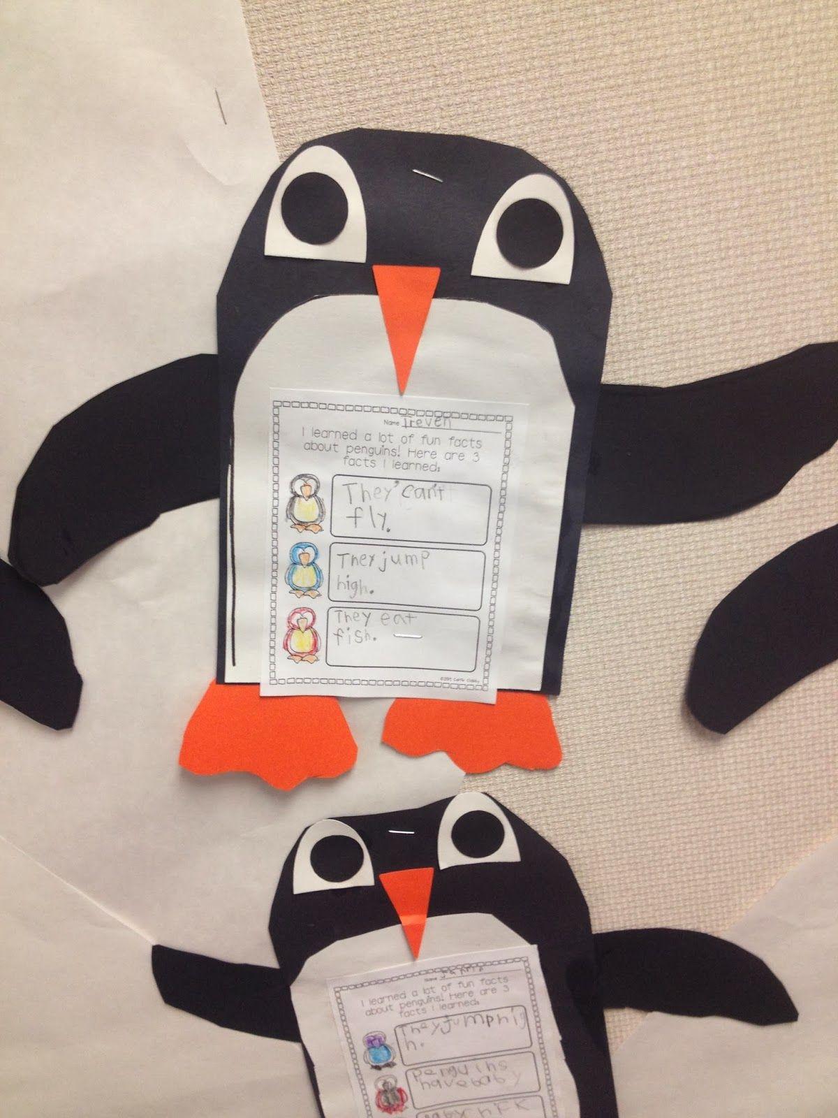 Mrs Solis S Teaching Treasures Snowman And Penguin Fun