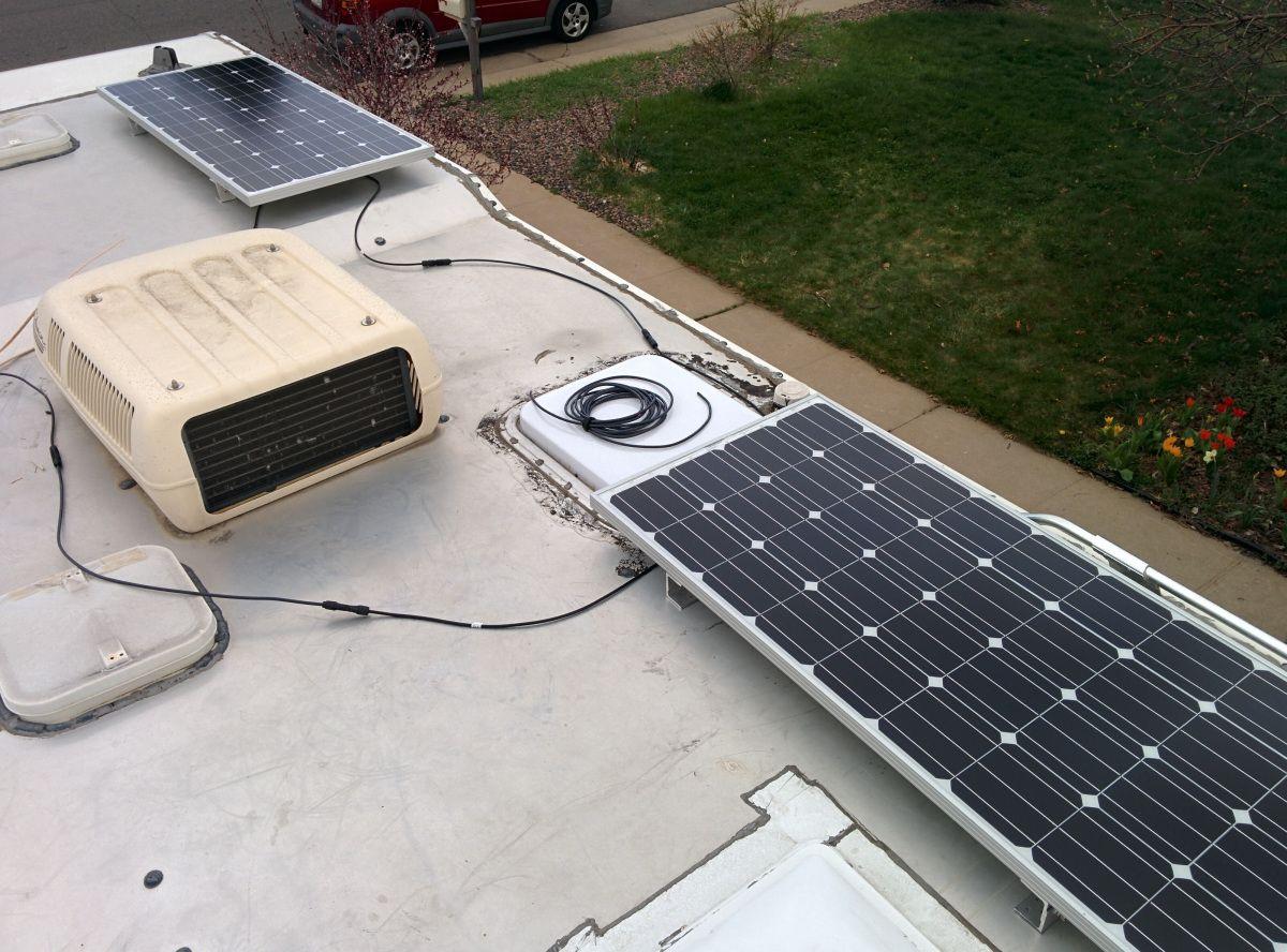 Diy Rv Solar Solar Panels Solar Rv Solar