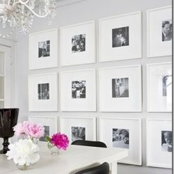 Step by step DIY for making your own gallery wall.