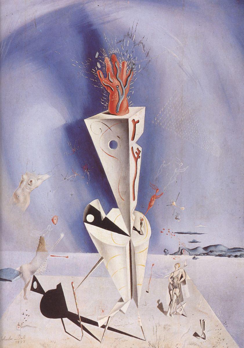 ~ Apparatus and Hand, by Salvador Dali - 1927 - Surrealism ...