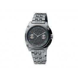 Nye standarder inden for enkelhed og raffinement. Forkæl dig selv med lidt luksus med dette ur i gunmetalbelagt stainless steel, hvor urskiven er udsmykket med SWAROVSKI ELEMENTS