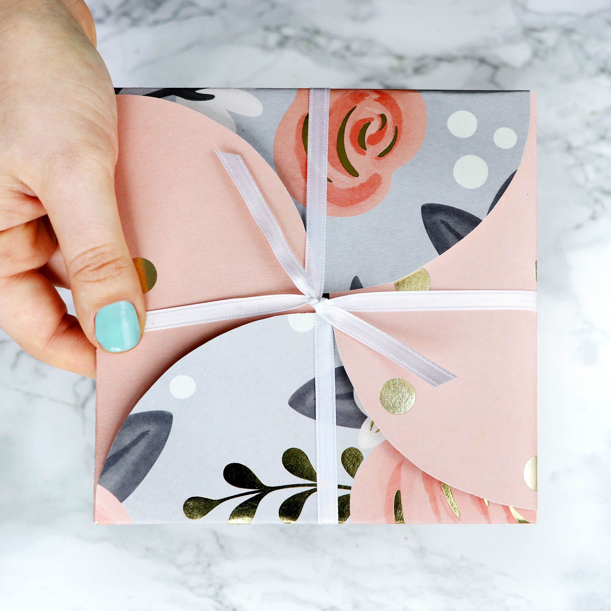 Diy Christmas Gift Card Holder: DIY Circle Envelope Gift Card Holder