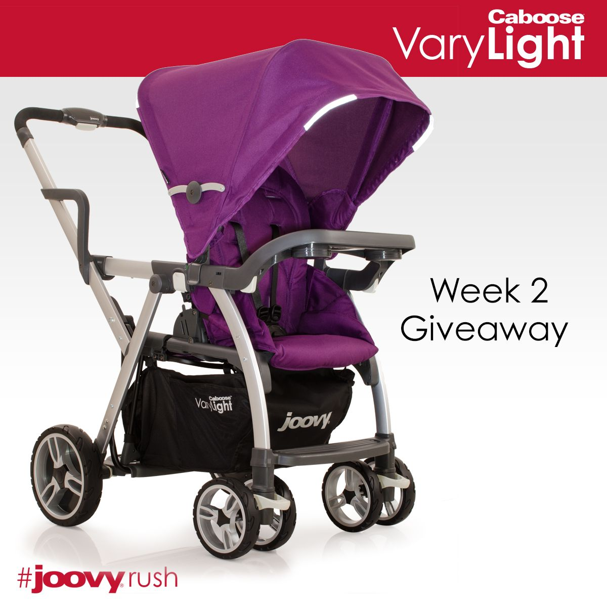 Strolling With Two JoovyRush {Caboose Giveaway} Tandem
