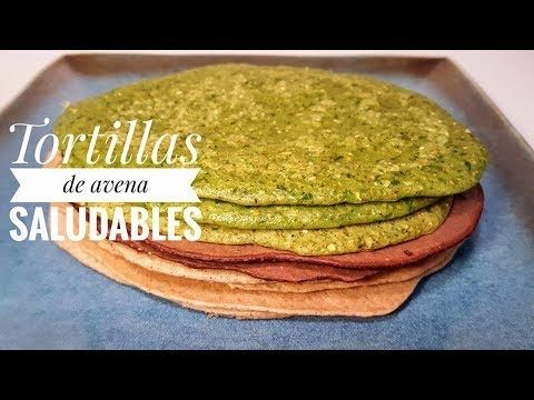 Easy and Healthy oat tortillas #FMD - YouTube