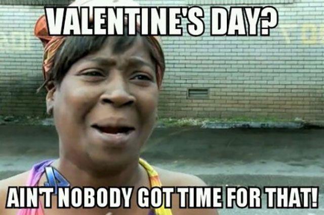 alone on valentines day meme