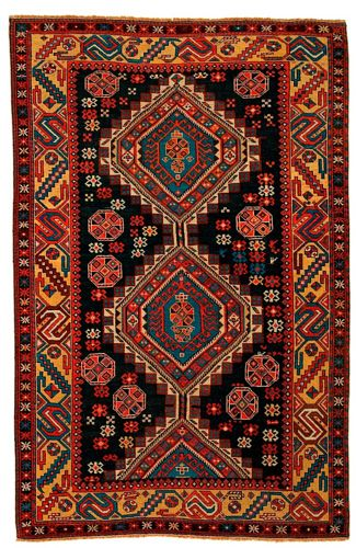 Eastern Caucasus Shirvan 19th C Silk Road Rug